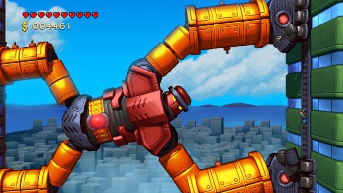 Análise Arkade: destruindo robôs gigantes no divertido Mechstermination Force