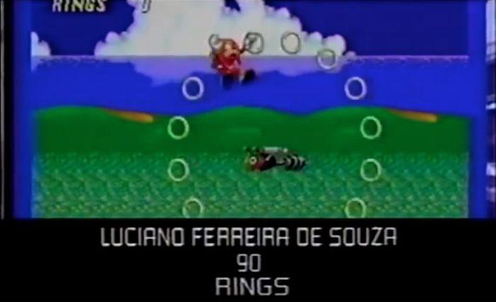 O mundial de Sonic & Knuckles em Alcatraz, registrado pela Videogame em 1994