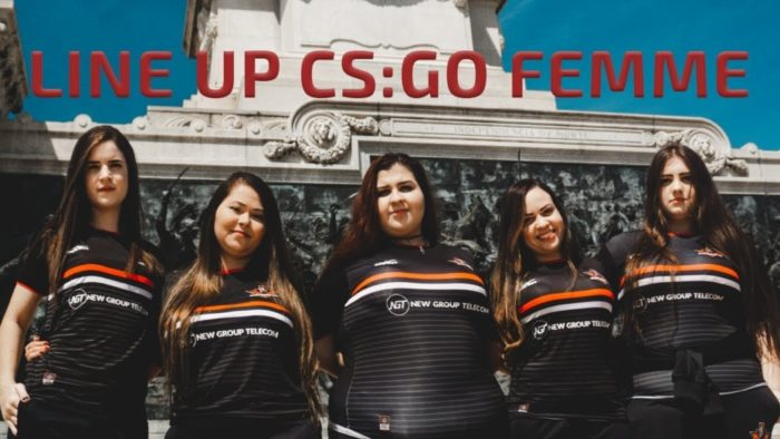 Imperial eSports contrata equipe feminina de CS:GO