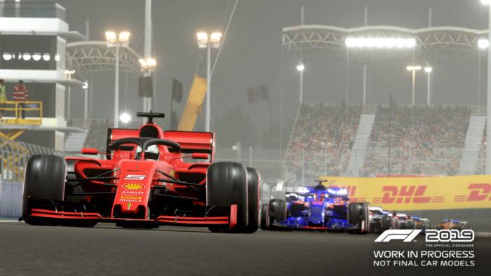 F1 2019 apresenta trailer e confirma a lista dos carros clássicos disponíveis