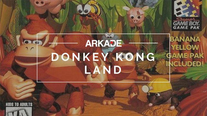 RetroArkade - A trajetória de Donkey Kong Land no Game Boy
