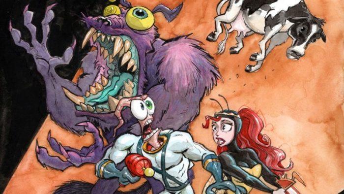 Earthworm Jim ganha um novo game exclusivo para o Intellivision Amico