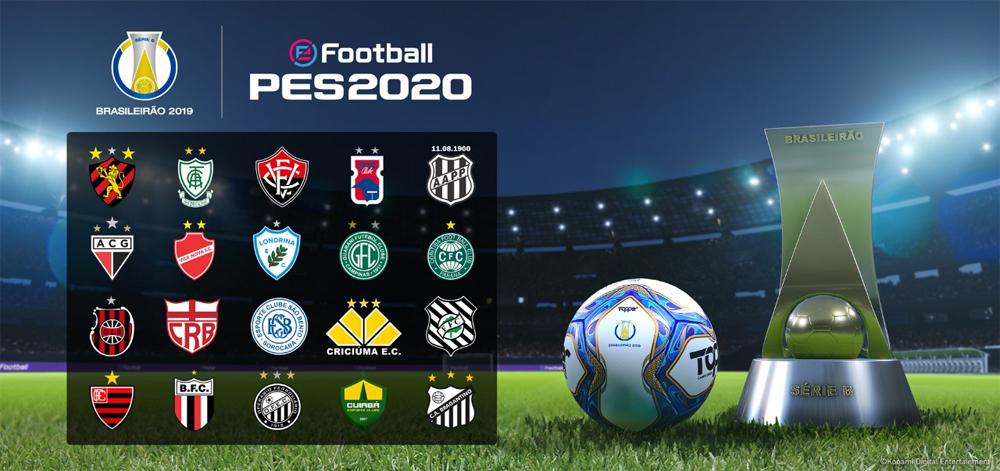 GameXP 2019: Atlético Mineiro, Sport Recife e a Série B do Brasileirão chegam ao PES 2020
