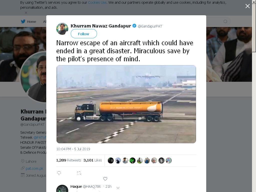 Político paquistanês confunde vídeo de GTA V com a vida real e elogia piloto