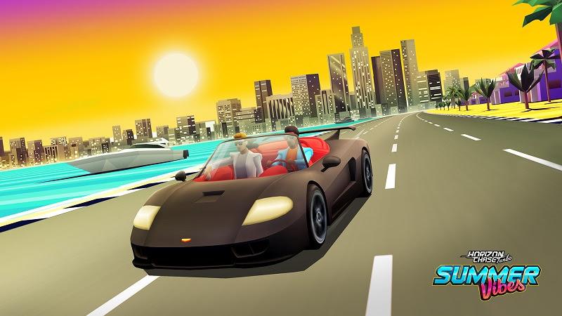 Summer Vibes: DLC de Horizon Chase Turbo homenageia o clássico Outrun