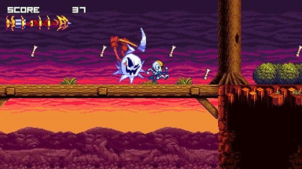 Produtora de Sonic Mania anuncia seu novo game no Kickstarter: Vertebreaker