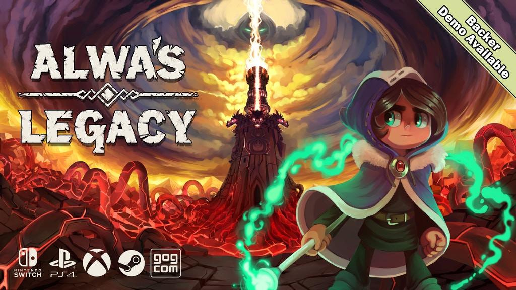 Alwa's Legacy lança sua campanha no Kickstarter, entrando no mundo dos 16 bits