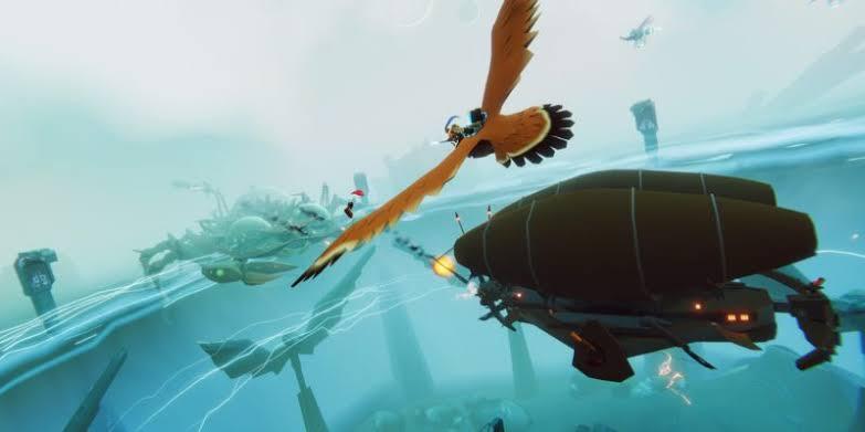The Falconeer: um RPG de mundo aberto para ser explorado em cima de um falcão guerreiro