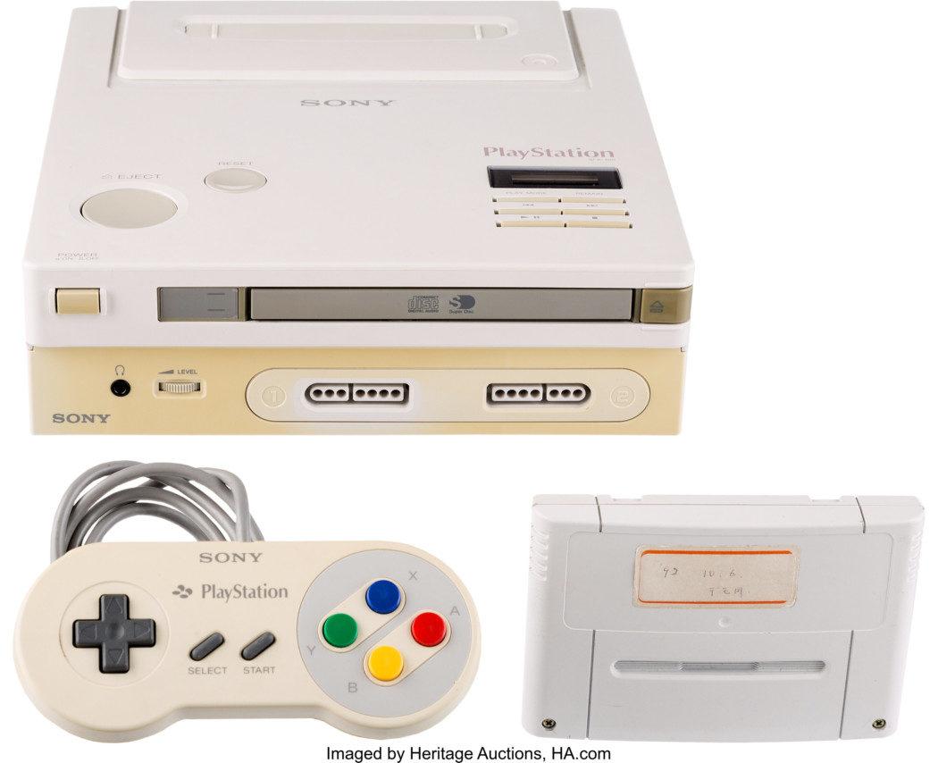"""O protótipo do """"Nintendo Play Station"""" vai ser leiloado em fevereiro do ano que vem"""