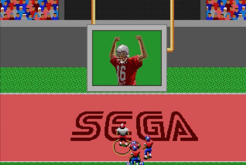 Deu San Francisco 49ers em nossa simulação do Super Bowl LIV, no Joe Montana Football do Mega Drive