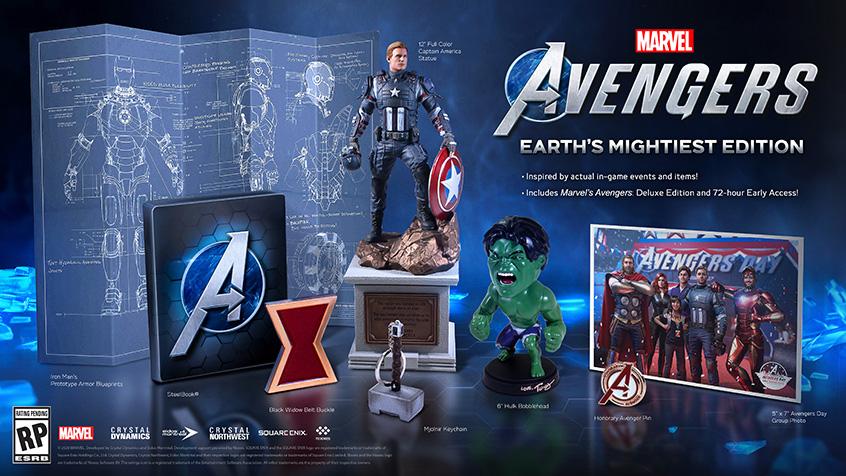 Marvel's Avengers ganha novo trailer e mostra sua edição de colecionador