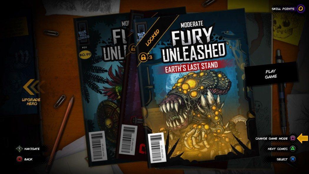 Análise Arkade - Fury Unleashed é a mistura perfeita entre roguelike e HQs