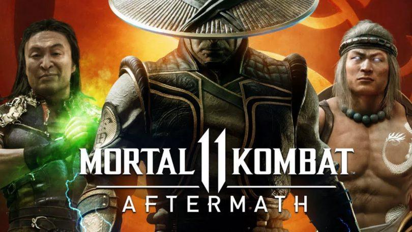 Mortal Kombat 11: Aftermath é a nova expansão, com mais história e até o Robocop!