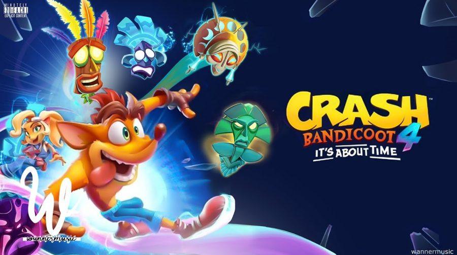 Crash 4 é confirmado. Conheça Crash Bandicoot 4: It's About Time, e suas novidades