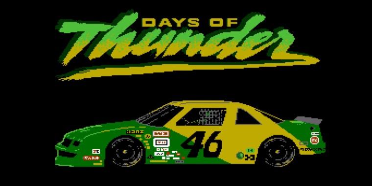 Days of Thunder: pesquisadores recuperam jogo nunca lançado de Nintendinho!