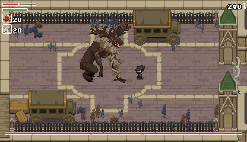 Conheça e jogue agora Yarntown, uma interessante mistura de Bloodborne e Zelda