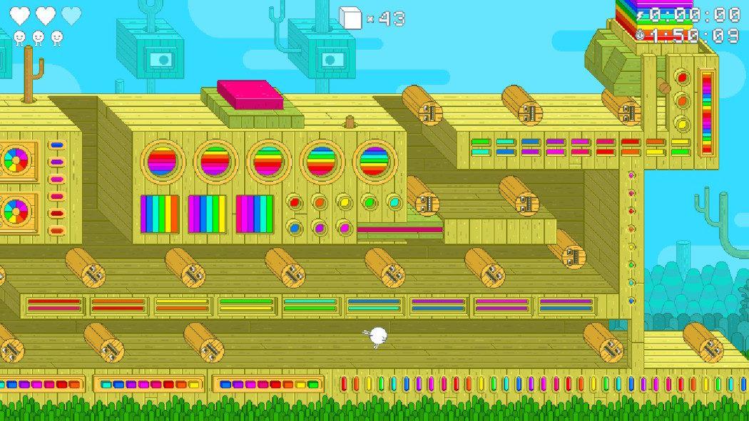 Análise Arkade: Spinch, um jogo 2D que mistura psicodelia, beleza e desafio