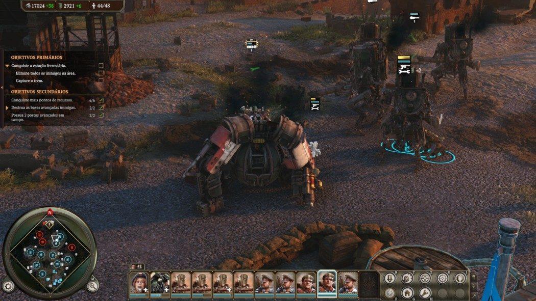 Análise Arkade: Iron Harvest é um incrível RTS steampunk
