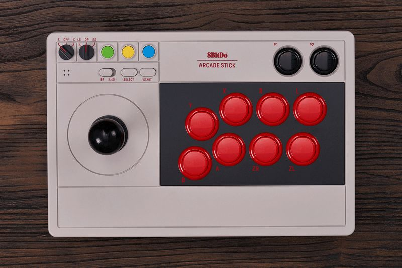 8BitDo lança stick para Switch e PC totalmente customizável e modificável