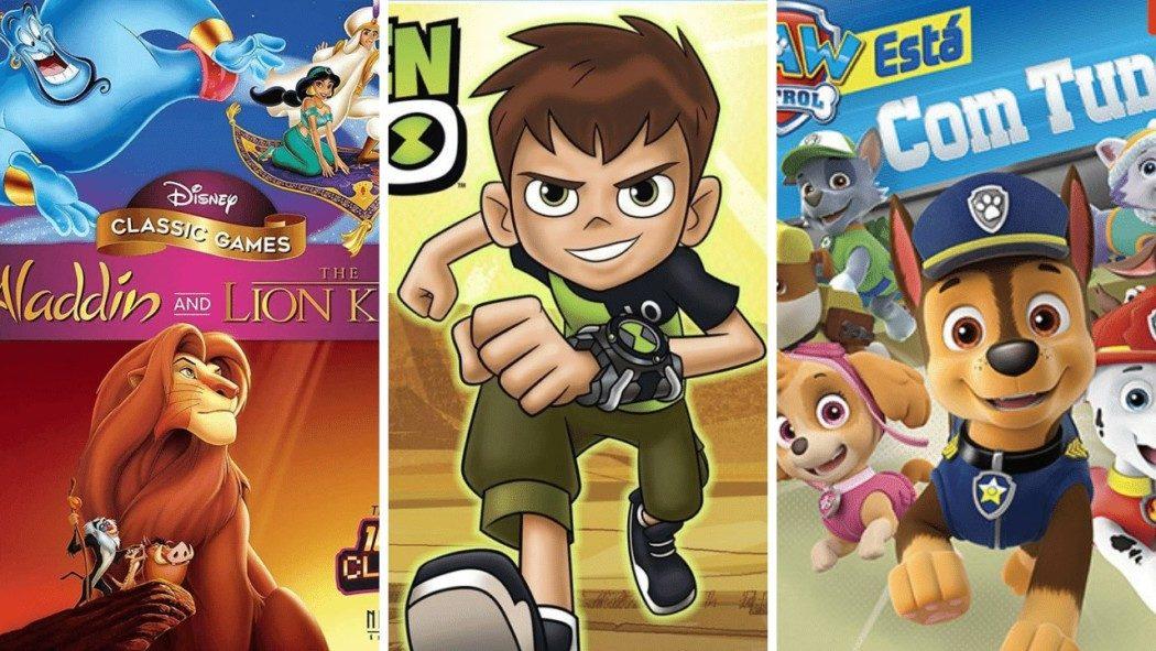 """Para crianças e adultos """"jovens ainda"""": linha infantil de games é opção para o dia das crianças"""