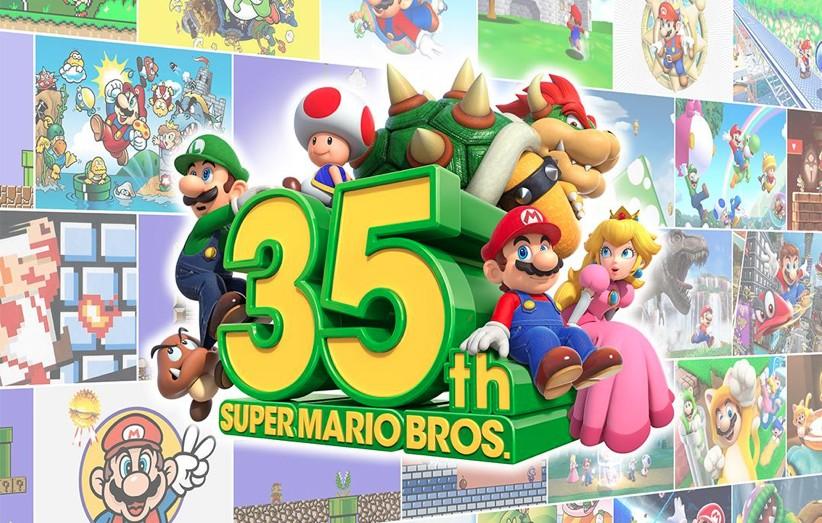 Super Mario comemora 35 anos com games, eventos e produtos especiais