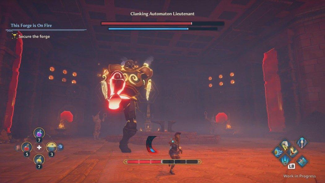 Preview Arkade: Immortals Fenyx Rising tem muita cor, aventura e ótimos combates