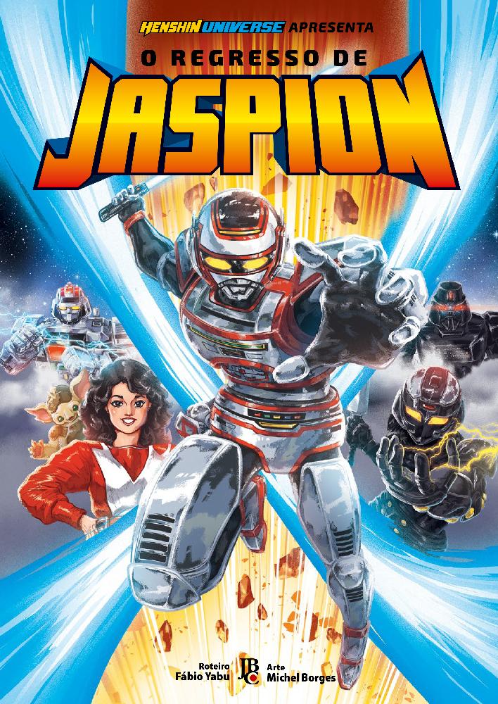 O mangá do Jaspion entrou em pré-venda e chega no fim de outubro