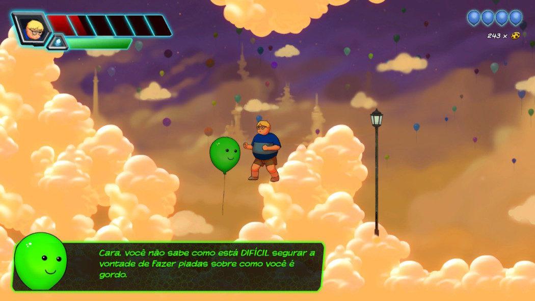 """Análise Arkade: Adventures of Chris transforma o """"nerd gordinho"""" em herói com muito bom humor"""