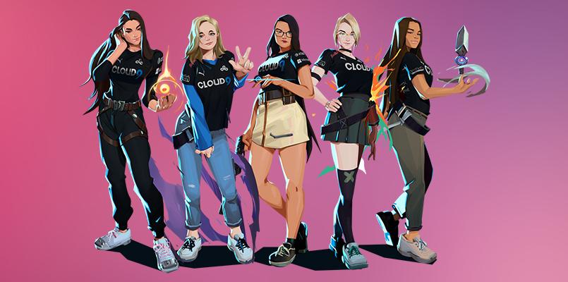 VALORANT – Cloud9 forma a sua primeira equipe feminina!