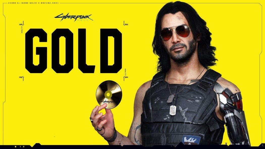 """Cyberpunk 2077 está pronto. Game está """"gold"""" e chega em 19 de novembro"""