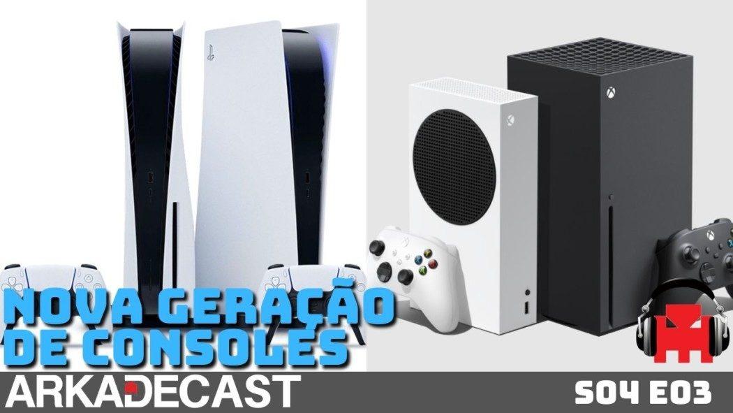 Arkade Cast S04 E03: A Nova Geração de Consoles