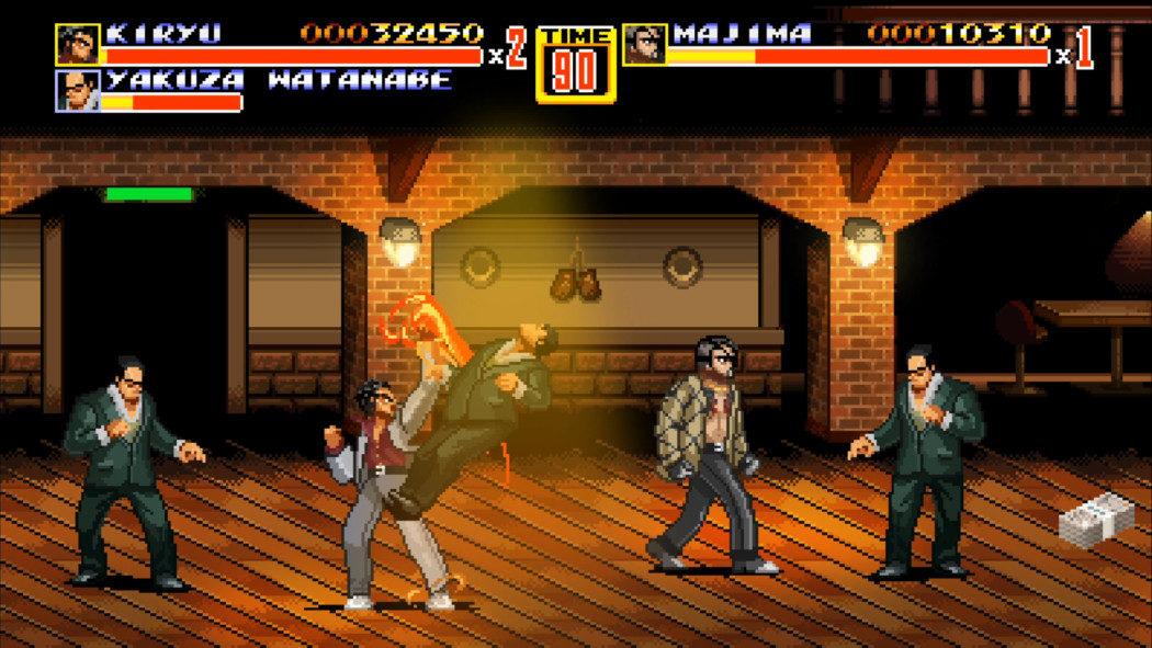Streets of Kamurocho: Sega vai lançar DE GRAÇA crossover 2D de Yakuza com Streets of Rage!