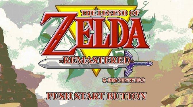 Um grupo de modders lançou um remaster de The Legend of Zelda de NES