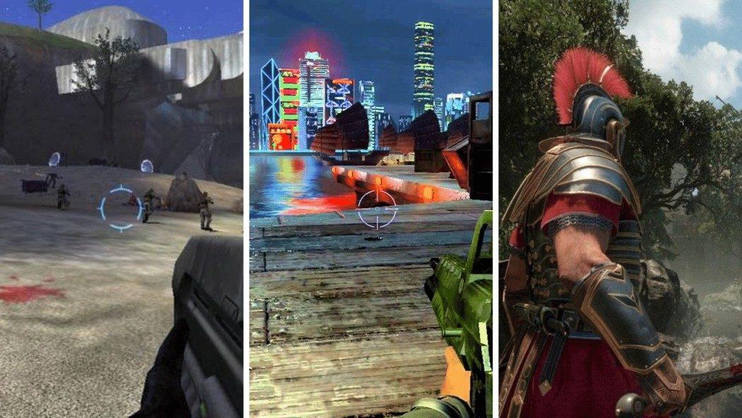 Quais games foram lançados no primeiro dia de grandes consoles?