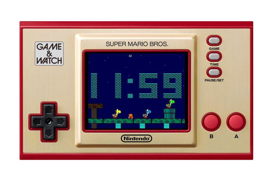 Nintendo lança Game & Watch atualizado, com Super Mario Bros.
