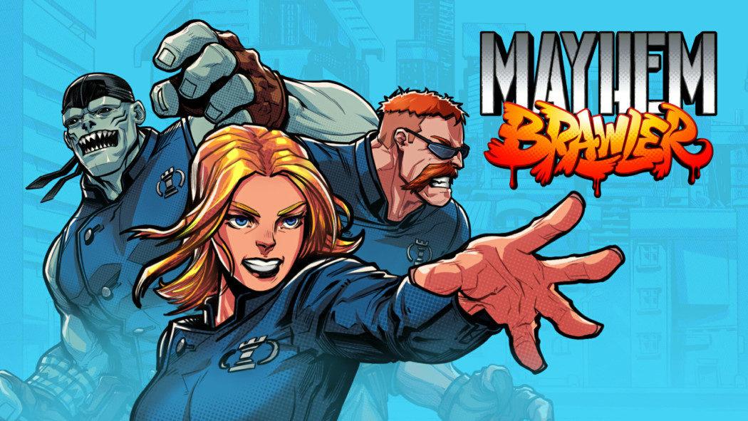 Mayhem Brawler: jogo mistura beat 'em up e fantasia com visual de quadrinhos