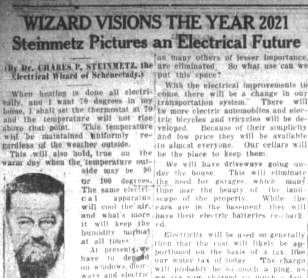 """Seis previsões de tecnologia feitas em 1921 que dizem """"como seria o mundo em 2021"""""""