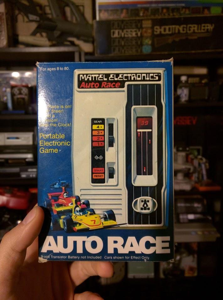 Começou assim: Mattel Auto Race, o primeiro videogame portátil de todos
