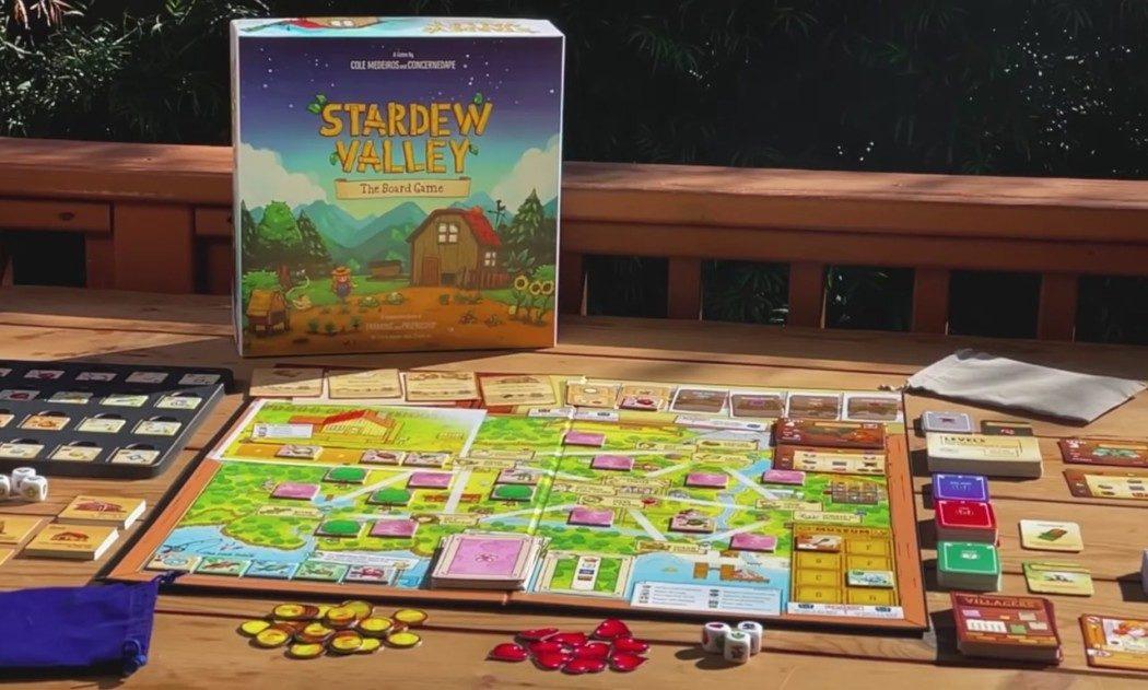 Stardew Valley ganhou um jogo de tabuleiro cooperativo