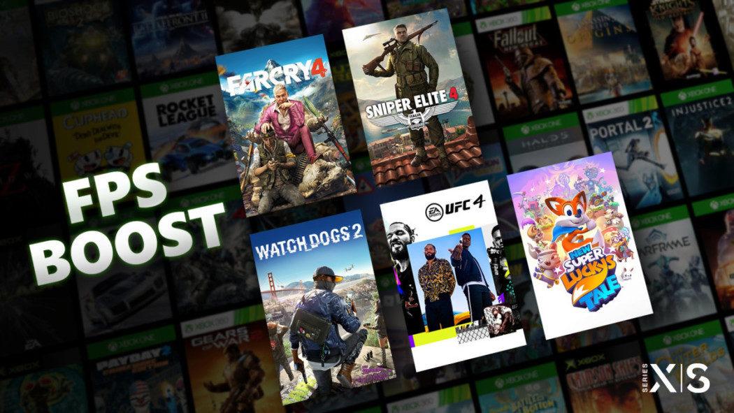 Xbox anuncia o FPS Boost, para melhorar ainda mais seus retrocompatíveis
