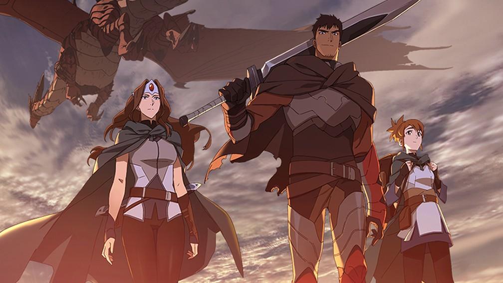 Dota ganhará uma adaptação em anime na Netflix, confira o teaser-trailer