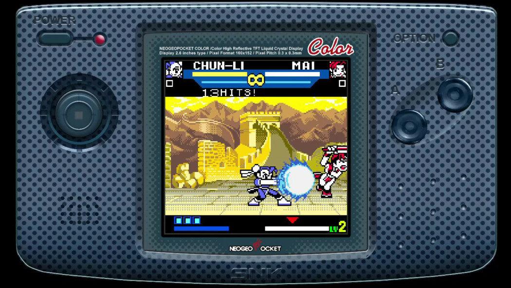 RetroArkade: Relembrando SNK vs. Capcom: The Match of The Millennium no Switch
