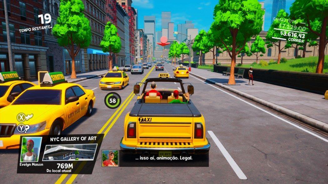 Análise Arkade: Taxi Chaos tenta, mas não consegue ser bom como Crazy Taxi