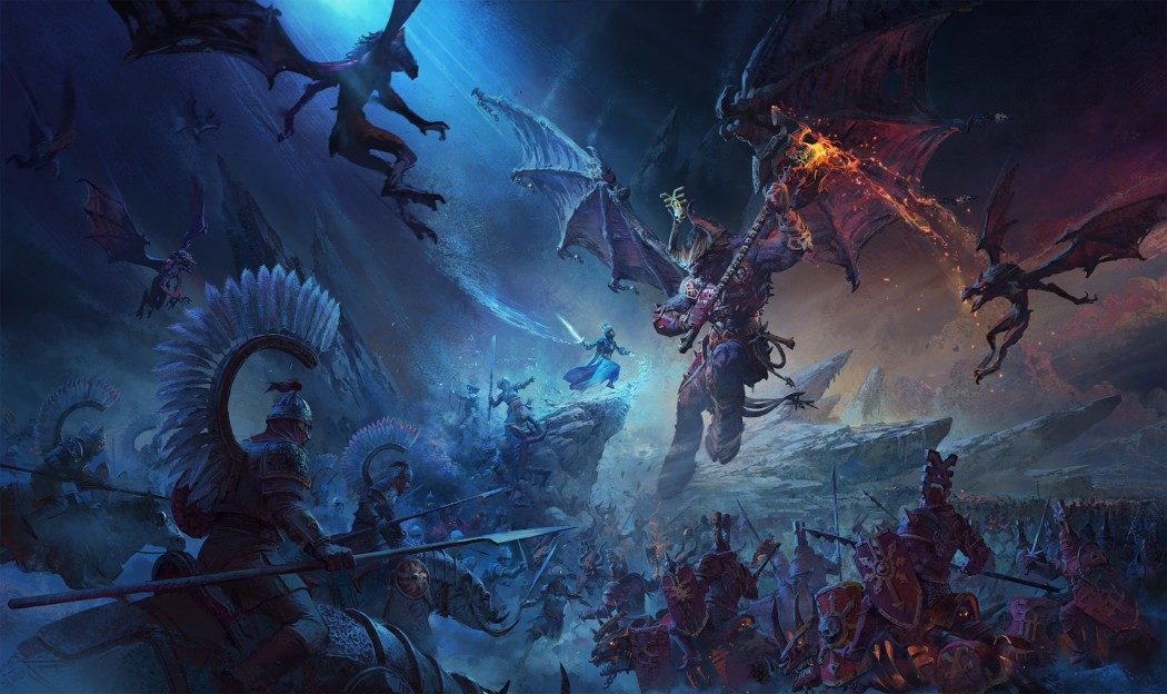 Sega anuncia Total War: Warhammer III com épico trailer cinematográfico!