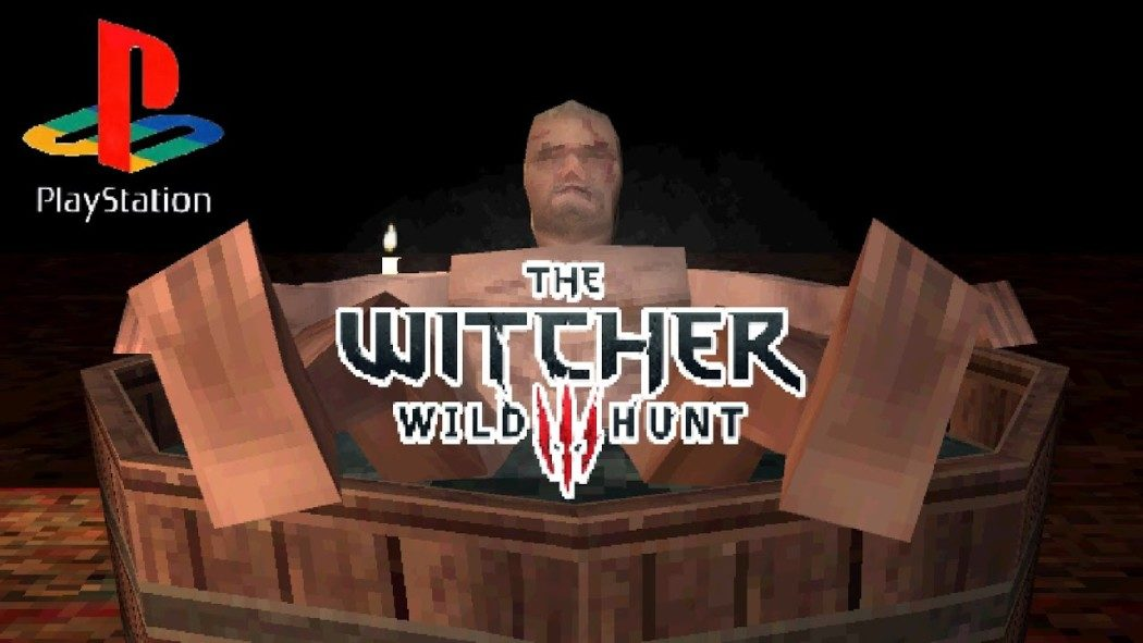 Vídeo demake reimagina a abertura de The Witcher 3 com visual de PS1