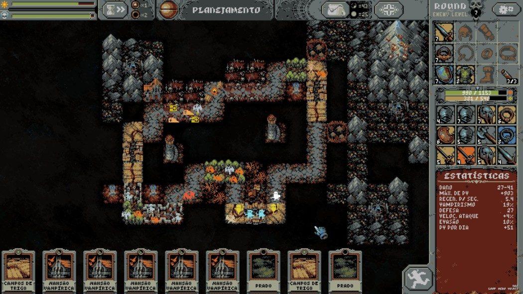 Análise Arkade: Loop Hero é um criativo e diferente rogue-lite retrô