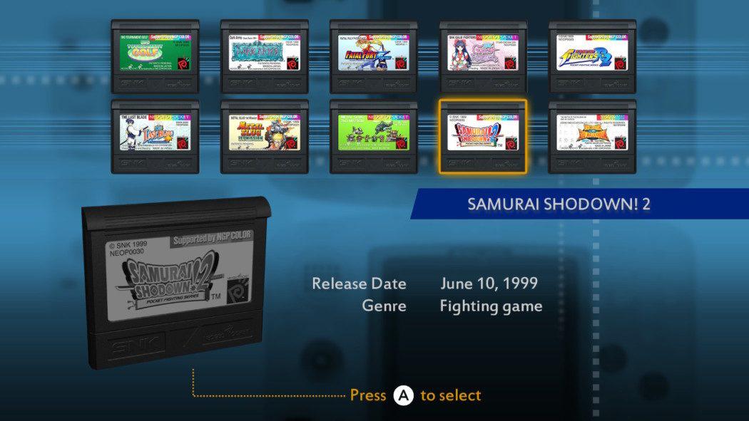 Análise Arkade: NeoGeo Pocket Color Selection Vol. 1, o legado de bolso da SNK