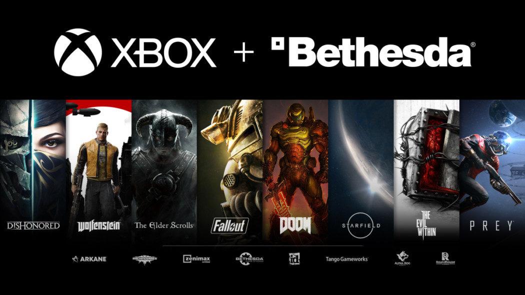 Microsoft confirma que alguns novos games da Bethesda serão exclusivos de Xbox