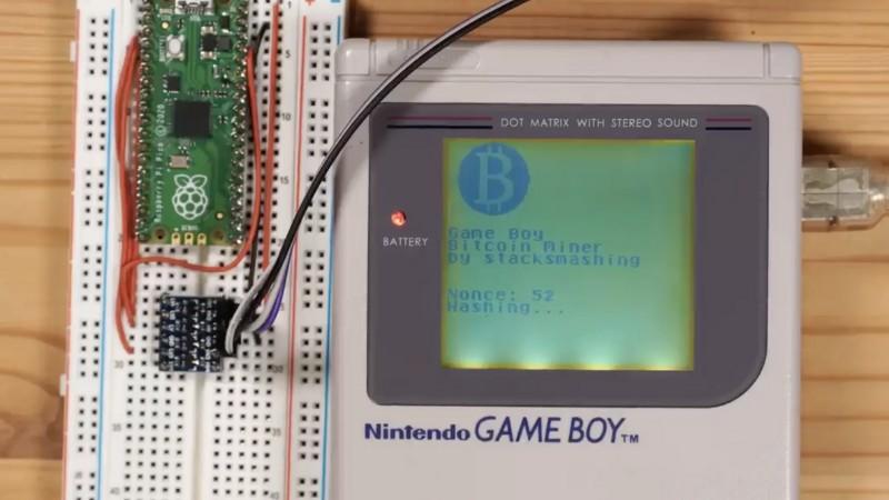 Um modder arrumou um jeito de minerar bitcoin com o Game Boy