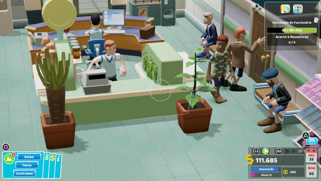 Análise Arkade: Two Point Hospital Jumbo Edition traz gerenciamento e doenças malucas aos consoles